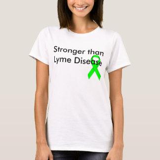 T-shirt Plus fort que la maladie de Lyme