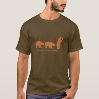 T-shirt Plus futé que la moyenne