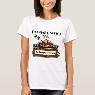 T-shirt Plus grand Schapendoes du monde fier de