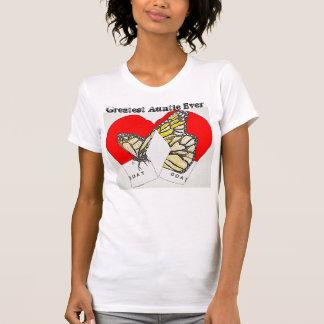 T-shirt Plus grande tante Ever avec des gants de boxe de