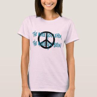 T-shirt Plus que vous apprenez, les plus vous Berne !