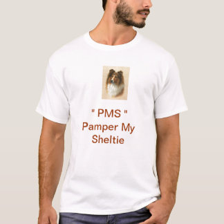 T-shirt PMS choient ma chemise de Sheltie