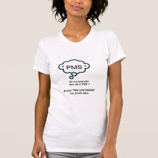 T-shirt PMS et vache folle