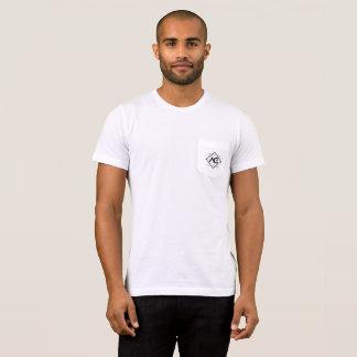 T-shirt Poche atomique T de garage et nom arrière