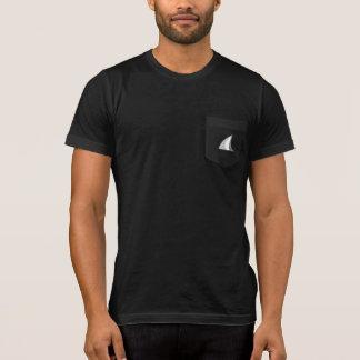 T-shirt Poche d'aileron de requin