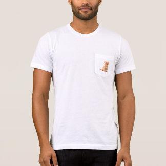 T-shirt poche de minou