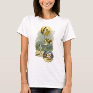 T-shirt Poème vintage de comptine d'oie de mère