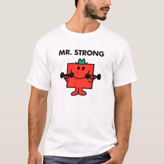 T-shirt Poids de levage de M. Strong |