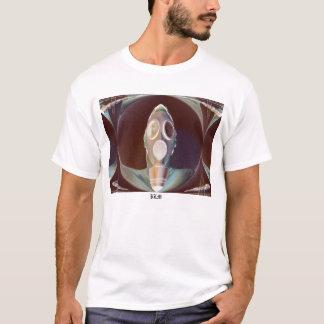 T-shirt Poignards de masque de portrait-W/gaz de