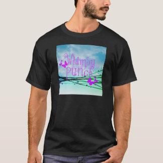 T-shirt Poinçon fantaisie avec des papillons