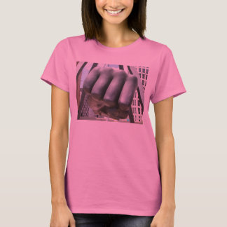 T-shirt poing de Detroit