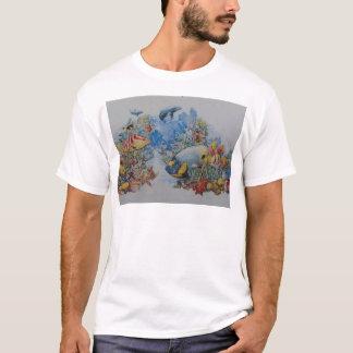 T-shirt Poissons de corail et tropicaux