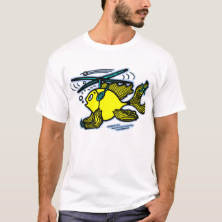 T-shirt Poissons d'hélicoptère