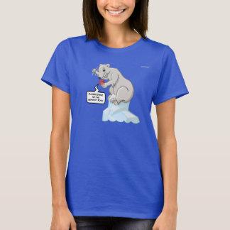 T-shirt polaire de fusion d'incidences