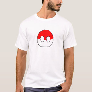 T-shirt PolandBall