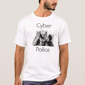 T-shirt Police de Cyber