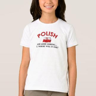 T-shirt Polonais beau