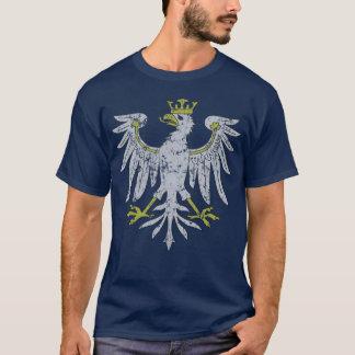 T-shirt polonais d'obscurité d'Eagle de cru