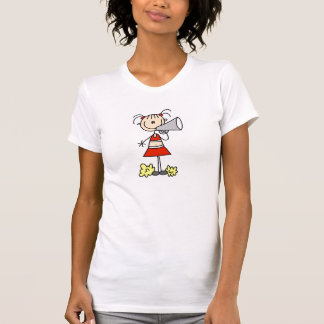 T-shirt Pom-pom girl avec le mégaphone
