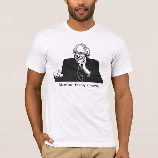 T-shirt Ponceuses quotidiennes 2016 de Bernie d'égalité