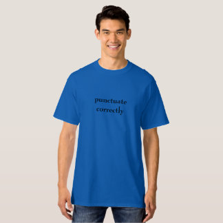 T-shirt Ponctuation
