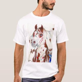 T-shirt Poney indien sacré de chasse