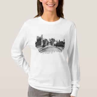 T-shirt Pont à la cathédrale, Breslau Pologne, c.1910