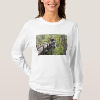 T-shirt Pont couvert de McKee, Jacksonville, Orégon
