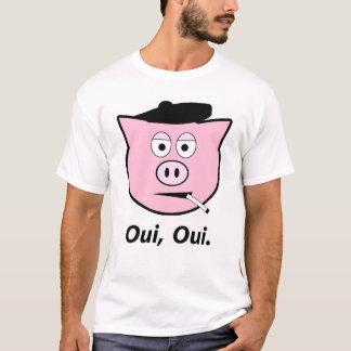 T-shirt Porc français. Oui, oui.