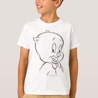 T-shirt Porc gros 4 expressifs