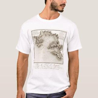 T-shirt Port de carte d'Acapulco