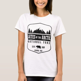 T-shirt Portes du parc national arctique