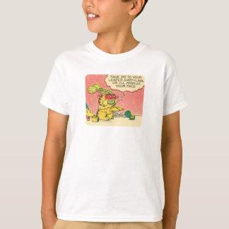 T-shirt Portez-moi à votre chef, la chemise de l'enfant