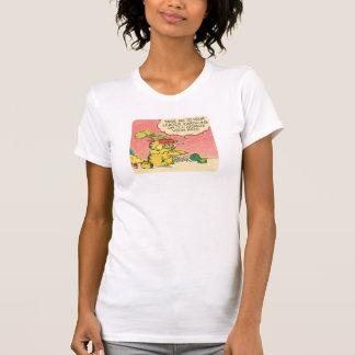 T-shirt Portez-moi à votre chef, la chemise des femmes
