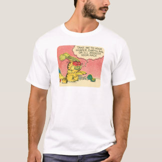 T-shirt Portez-moi à votre chef, les chemises des hommes