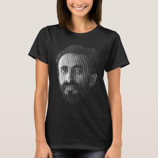 T-shirt Portrait d'art de ligne numérique de Haile