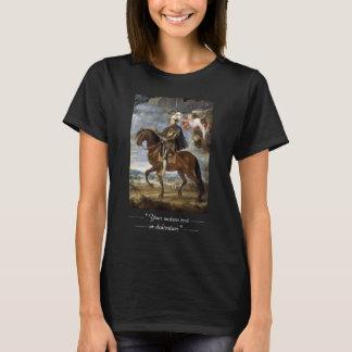 T-shirt Portrait équestre de Philip II Peter Paul Rubens