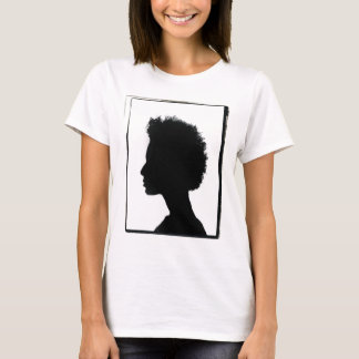 T-shirt Portrait naturel