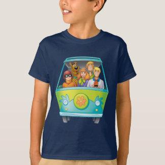 T-shirt Pose 25 d'aerographe de Scooby Doo