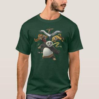 T-shirt Pose cinq furieuse