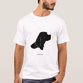 T-shirt Poseur anglais - silhouette noire