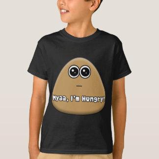 T-shirt Pou affamé avec le texte
