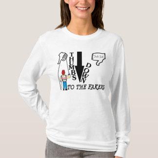 T-shirt Pouces vers le bas Longsleeve (femmes)