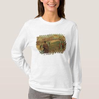 T-shirt Poudre de transport à Perry chez le lac Érié, 1911