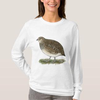 T-shirt Poule de cailles de Coturnix