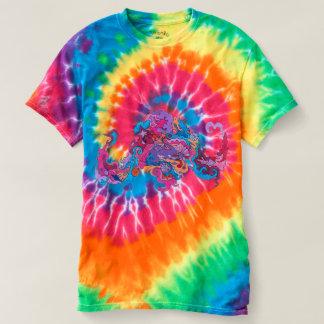 T-shirt Poulpe psychédélique
