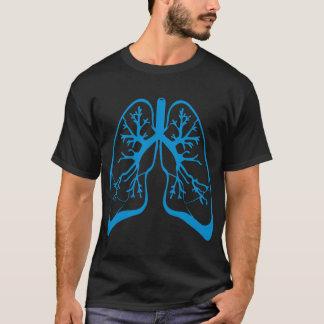 T-shirt Poumons foncés