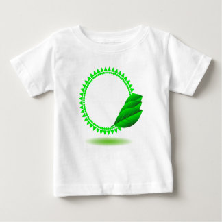 T-shirt Pour Bébé 100Green Icon_rasterized