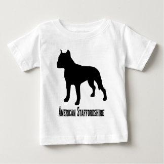 T-shirt Pour Bébé 1715112006 le Staffordshire Terrier américain