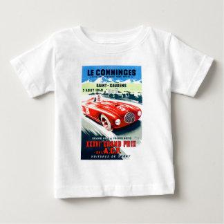 T-shirt Pour Bébé 1949 Français Grand prix emballant l'affiche